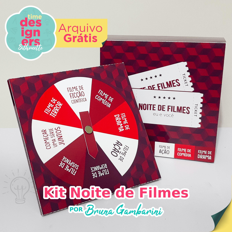 Kit Noite de Filmes - Dia dos Namorados
