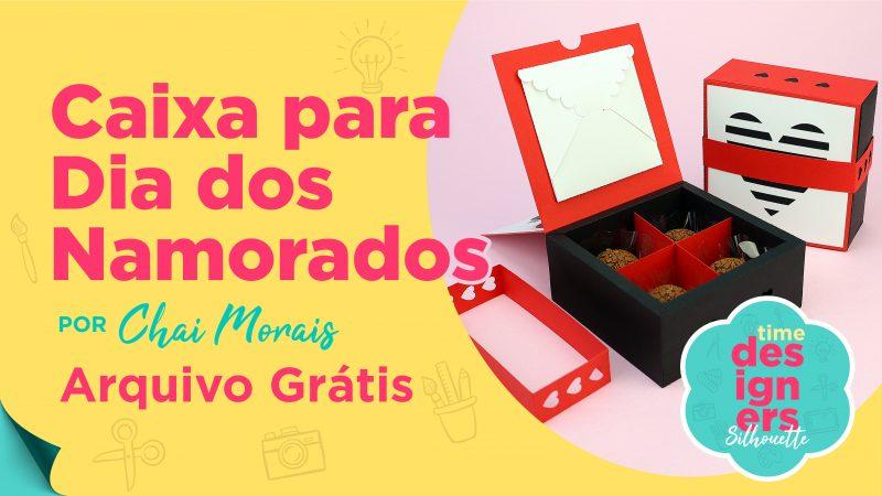 Caixa Para Dia dos Namorados + Arquivo GRÁTIS