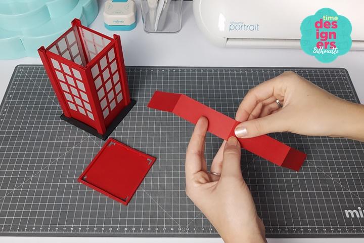 Como Fazer uma Luminária de Papel