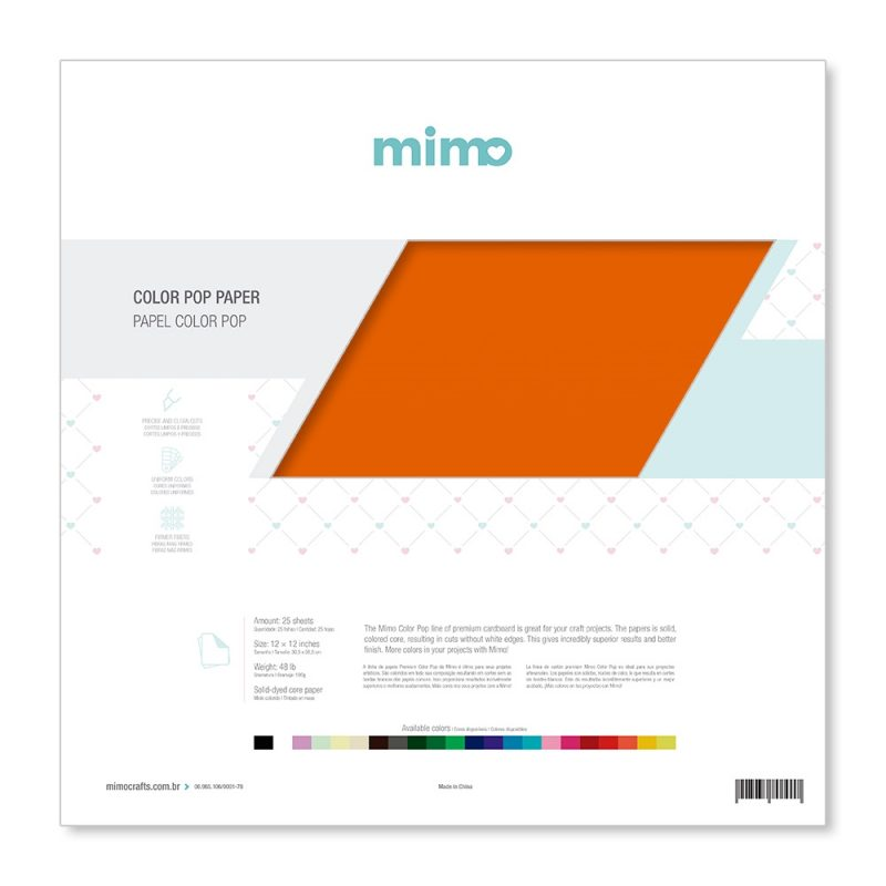Papel Colorido Para Personalizados