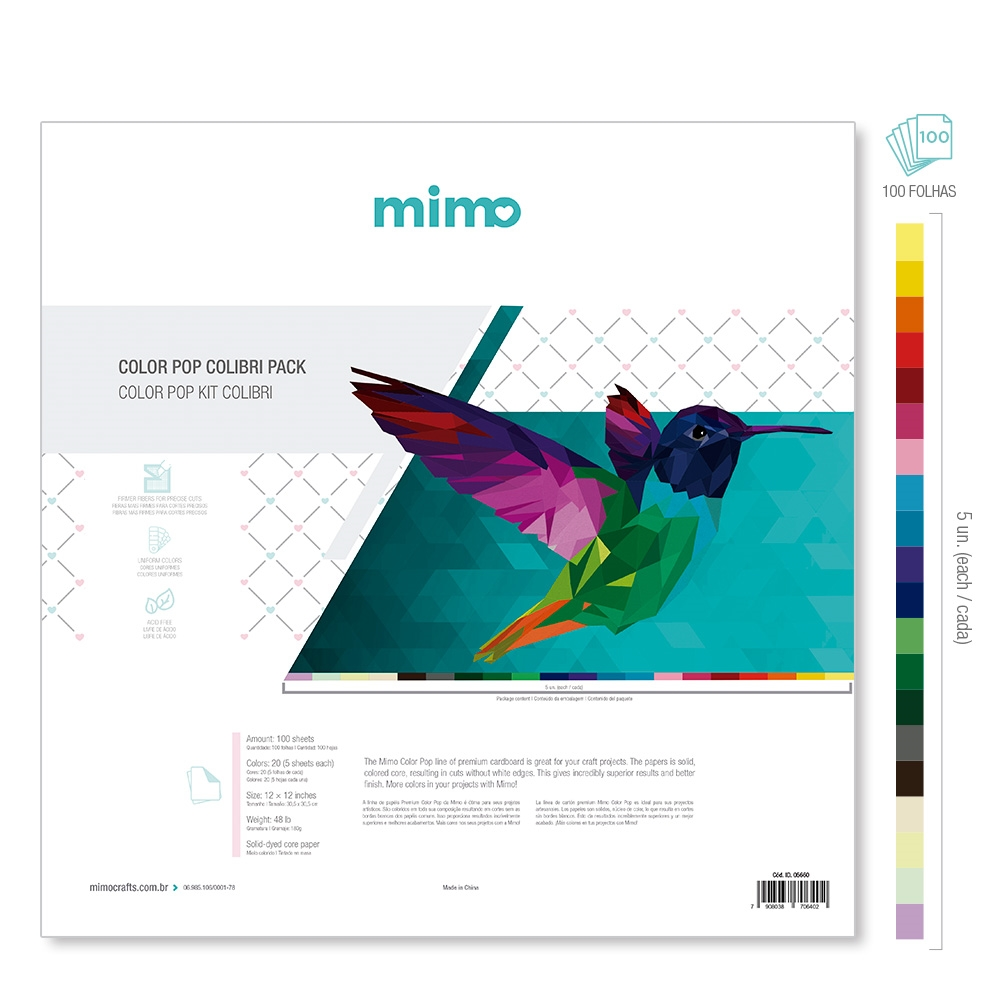 Kit Colibri Colo POP Mimo - Loja Silhouette Brasil