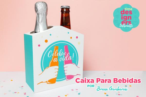 Ideais para Dia dos Pais - Caixa Para Bebidas
