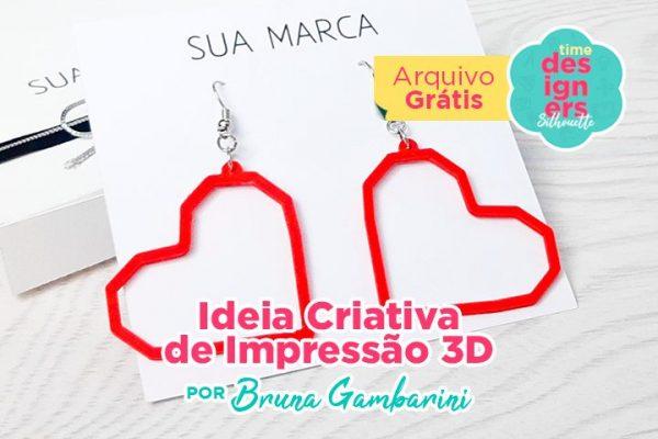 Ideia Criativa para Impressão 3D – Impressora 3D Silhouette Alta Plus