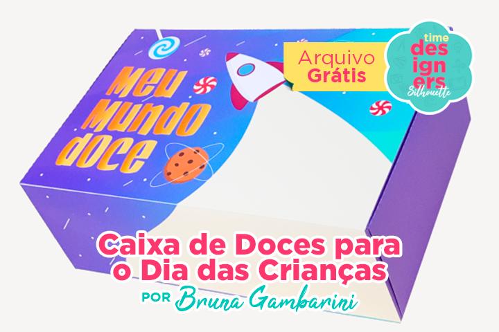 Caixa de Doces Dia das Crianças
