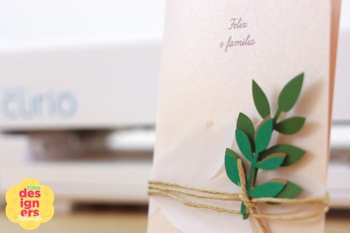 Como Fazer Relevo em Convite de Casamento com a Silhouette Curio